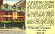 res001331 - Union Oyster House, Boston, MA USA Restaurant Old Vintage Antique Postcard Post Cards