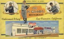 res001335 - Joe Di Maggios Restaurant , San Francisco, CA USA Old Vintage Antique Postcard Post Cards