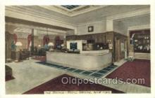 res001337 - Hotel Bristol, New York City, NYC USA Restaurant Old Vintage Antique Postcard Post Cards