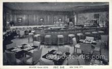res001355 - Belmont Plaza Hotel Pine Bar, New York, NY USA Restaurant Old Vintage Antique Postcard Post Cards