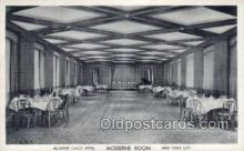 res001356 - Belmont Plaza Hotel Pine Bar, New York, NY USA Restaurant Old Vintage Antique Postcard Post Cards