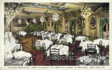 res001362 - Hotel Piccadilly, New York, NY USA Restaurant Old Vintage Antique Postcard Post Cards