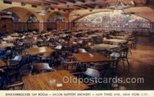 res001364 - Jacob Ruppert Brewery, New York, NY USA Restaurant Old Vintage Antique Postcard Post Cards
