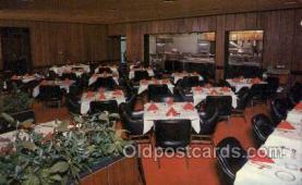 res001402 - Red Carpet Room at Bucks, Asheville, NC USA Restaurant Old Vintage Antique Postcard Post Cards