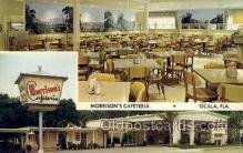 res001436 - Ocala Florida USA Morrisons Cafeteria Old Vintage Antique Postcard Post Cards