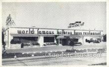 res001448 - Hallandale Florida USA World Famous Hofbrau Haus Old Vintage Antique Postcard Post Cards