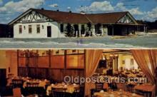 res001456 - New Port Richey Florida USA Bavarian Gardens Restaurant Old Vintage Antique Postcard Post Cards