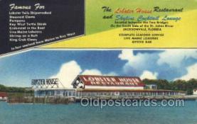 res001482 - Jacksonville, FL USA Lobster House Old Vintage Antique Postcard Post Cards