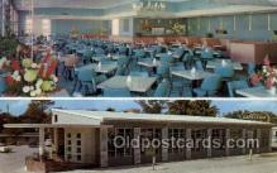 res001486 - Miami, FL USA Sylvania Cafeteria Old Vintage Antique Postcard Post Cards
