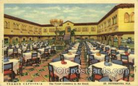 res001492 - St Petersburg, FL USA Tramor Cafeteria Old Vintage Antique Postcard Post Cards