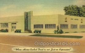 res001493 - St Petersburg, FL USA Aunt Hatties Family Restaurant Old Vintage Antique Postcard Post Cards