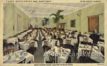 res001509 - Miami Beach, FL USA Fassa Restaurant from Monte Carlo Old Vintage Antique Postcard Post Cards