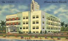 res001513 - Miami Beach, FL USA The Drake Old Vintage Antique Postcard Post Cards