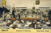 res001539 - Miami Beach, FL USA Curry's Restaurant Old Vintage Antique Postcard Post Cards