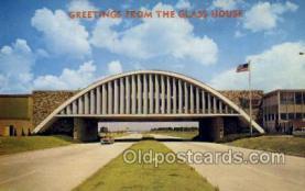 res001556 - Vinita, OK USA Glass House Restaurant  Old Vintage Antique Postcard Post Cards