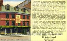 res001557 - Boston, MASS USA Union Oyster House Old Vintage Antique Postcard Post Cards