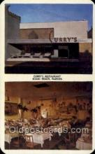 res001567 - Miami Beach Florida USA Currys Restaurant Old Vintage Antique Postcard Post Cards