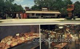 res001594 - Ormond Beach Florida USA Gills Bar B Q Old Vintage Antique Postcard Post Cards