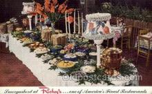 res001599 - San Francisco California USA Smorgasbord at Rickys Old Vintage Antique Postcard Post Cards
