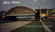 res001601 - Tulsa Oklahoma USA Glass House Restaurant  Old Vintage Antique Postcard Post Cards
