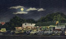 res001603 - St Petersburg Florida USA Linen Postcard Lighthouse Inn Old Vintage Antique Post Cards