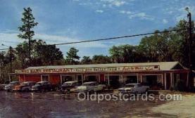 res001607 - Lake City Florida USA Red Barn Restaurant Old Vintage Antique Postcard Post Cards