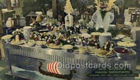 res001608 - Opa Locka Florida USA Linen Postcard Old Scandias Old Vintage Antique Post Cards