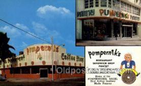 res001630 - Miami Beach Florida USA Pumperniks Old Vintage Antique Postcard Post Cards