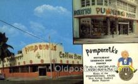 res001638 - Miami Beach Florida USA Pumperniks Old Vintage Antique Postcard Post Cards