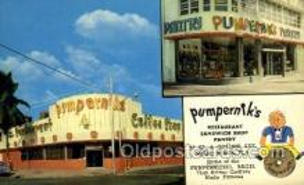 res001639 - Miami Beach Florida USA Pumperniks Old Vintage Antique Postcard Post Cards