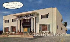 res001644 - Miami Beach Florida USA Arthur Wildes Old Vintage Antique Postcard Post Cards