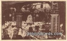 res050003 - Zucca's Italian Garden Restaurant, New York City, NYC Postcard Post Card USA Old Vintage Antique