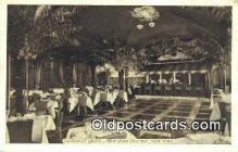 res050005 - Cocanut Grove, Park Central Restaurant, New York City, NYC Postcard Post Card USA Old Vintage Antique