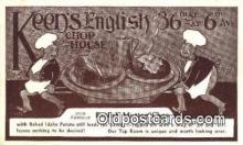 res050007 - Keen's English Chop House Restaurant, New York City, NYC Postcard Post Card USA Old Vintage Antique