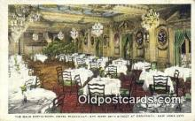res050008 - Hotel Piccadilly, Main Restaurant, New York City, NYC Postcard Post Card USA Old Vintage Antique