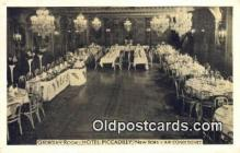 res050014 - Georgian Room, Hotel Piccadilly Restaurant, New York City, NYC Postcard Post Card USA Old Vintage Antique