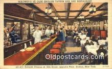 res050015 - Solowey's Restaurant, New York City, NYC Postcard Post Card USA Old Vintage Antique