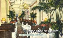 res050027 - Divan Parisien Restaurant, New York City, NYC Postcard Post Card USA Old Vintage Antique