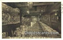 res050028 - Jimmie Dwyer's Saw Dust Trail Restaurant, New York City, NYC Postcard Post Card USA Old Vintage Antique