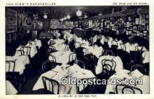 res050032 - Joe King's Rathskeller Restaurant, New York City, NYC Postcard Post Card USA Old Vintage Antique