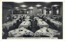 res050036 - McGinnis Restaurant, New York City, NYC Postcard Post Card USA Old Vintage Antique