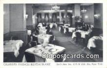 res050037 - Charles French Restaurant, New York City, NYC Postcard Post Card USA Old Vintage Antique