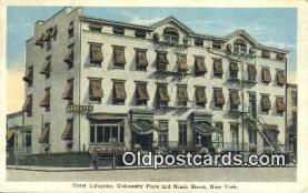 res050039 - Linen Hotel Lafayette Motel Hotel Postcard Post Card Old Vintage Antique