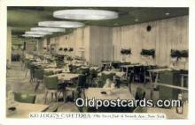 res050041 - Kellogg's Cafeteria Restaurant, New York City, NYC Postcard Post Card USA Old Vintage Antique