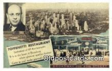 res050042 - Restaurant, Time Square Toffenetti Restaurant, New York City, NYC Postcard Post Card USA Old Vintage Antique