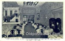 res050049 - Miyako Japanese Restaurant, New York City, NYC Postcard Post Card USA Old Vintage Antique