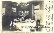 res050051 - Green Dining Room, Nippon Club Restaurant, New York City, NYC Postcard Post Card USA Old Vintage Antique