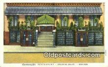 res050052 - Cananagh's Restaurant & Grill Restaurant, New York City, NYC Postcard Post Card USA Old Vintage Antique