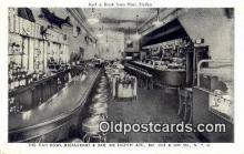 res050058 - Fish Bowl Restaurant, New York City, NYC Postcard Post Card USA Old Vintage Antique