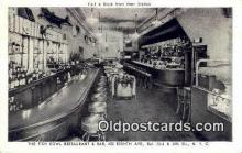 res050059 - Fish Bowl Restaurant, New York City, NYC Postcard Post Card USA Old Vintage Antique